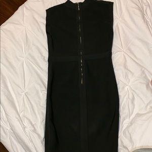 bebe Dresses - Bebe bandage dress with gold studs